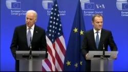 Віце-президент США : США та Європа повинні стояти разом. Відео