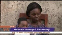 Un dernier hommage à Fiacre Gbedji