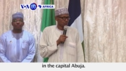 "VOA60 Africa - Nigeria: President Muhammadu Buhari in London for a ""follow-up medical consultation"""