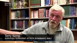 US Citizen Terry Kemp on Terrorist Attack in Mali