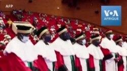 Prestation de serment des nouveaux juges de la Cour constitutionnelle malienne