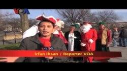 Santarchy Sambut Natal di Washington DC