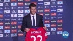 Alvaro Morata Hari ico Azohindura muri Atletico Madrid?