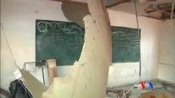 2014-07-30 美國之音視頻新聞: 以色列炮擊加沙聯合國學校15人死亡
