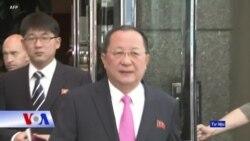 Ngoại trưởng Triều Tiên tới VN 'học hỏi' cải cách kinh tế