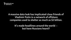 Muscovites React to 'Panama Papers' Implicating Putin