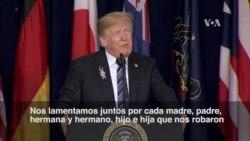 Trump se une al dolor de familiares de víctimas del 9-11