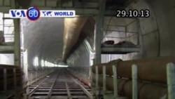 Khai trương đường hầm dài 13,6 km nối liền châu Âu (VOA60)