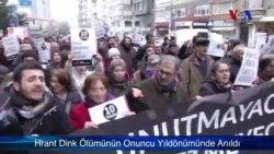 Hrant Dink Ölümünün 10.Yılında Unutulmadı