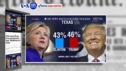 Bà Clinton dẫn ông Trump 12 điểm