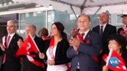 AQShda turkiy xalqlar yurishi
