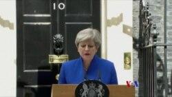 英國首相任命內閣成員誓言留任(粵語)