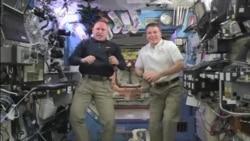 فضانوردان آمریکائی و جشن های سال نو مسیحی