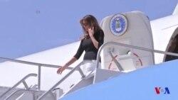 Melania Trump en visite à la frontière mexicaine pour la seconde fois (vidéo)