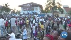 Réactions de la population à Kinshasa