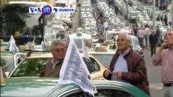VOA60 DUNIYA: PORTUGAL Direbobin Taxi Kimanin Dubu 6 Ke Zanga Zanga Har Suka Rufe Tituna a Wasu Birane 3