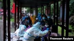 آرشیو - تست ویروس کرونا - ووهان، چین