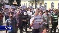Protestë në Shkodër kundër masave të qeverisë ndaj bizneseve