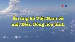 Ấn ủng hộ Việt Nam về một Biển Đông hòa bình