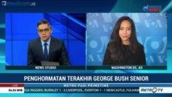 Laporan Langsung VOA untuk Metro TV PrimeTime: Penghormatan Terakhir Bagi Bush Senior