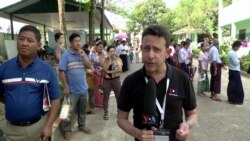 Heavy Voter Turnout in Myanmar Amid Anticipated Opposition Victory
