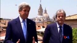 2016-06-27 美國之音視頻新聞: 英國脫歐危機加深 克里緊急赴英