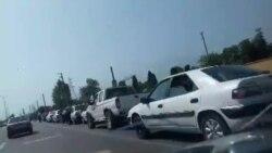 صف طولانی بنزین در مازندران | فیلم ارسالی شما