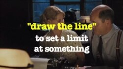 Học tiếng Anh qua phim ảnh: Draw the line - The perfect game (VOA)