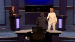 No post debate handshake