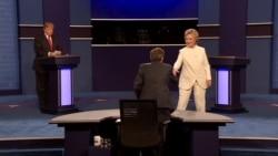 No post debate handshake
