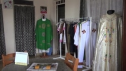 Nairobi Tailors Make Pope Francis' Vestments
