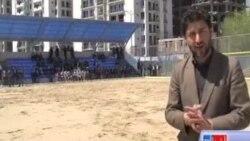 افتتاح دو میدان جدید فوتبال در کابل