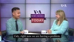 VOA News Words Today: Solution