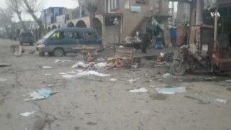 انفجار در بامیان