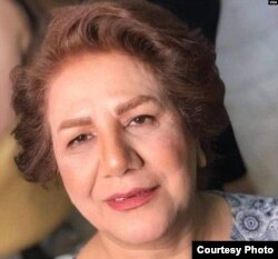 Undated photo of Iranian rights activist Shahla Entesari, who told VOA Persian in an April 28, 2020, interview that the coronavirus pandemic has fueled domestic violence against women in Iran.