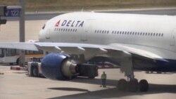 Pasajeros varados por falla digital en aerolínea Delta