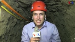 Dentro de un túnel del narcotráfico
