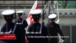 Nhật Bản sắp đưa chiến hạm lớn nhất đến Biển Đông