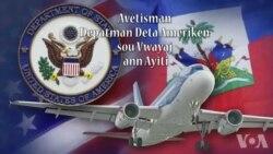 Depatman Deta ameriken Bese Avètisman Vwayaj pou Ayiti a Nivo 3