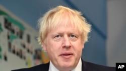 Britaniyanın baş naziri Boris Conson