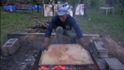 «Огненный» художник