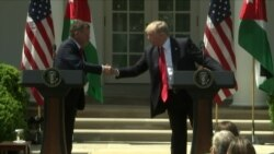 President Trump Meets With Jordan's King Abdullah
