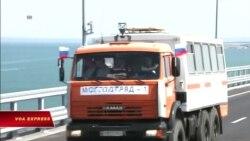 Putin khánh thành cây cầu nối liền Nga-Crimea