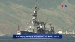 Nhật Bản sẽ tham gia tuần tra 'tự do hàng hải' ở Biển Đông