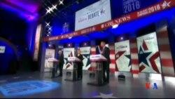 2015-11-15 美國之音視頻新聞: 民主黨總統參選人再度舉行辯論