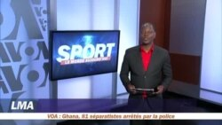 La page des sports du 8 mai avec Yacouba Ouédraogo