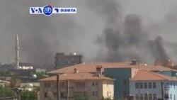 VOA60 DUNIYA: Turkiya Kurdawa Na Nuna Rashin Amincewarsu Kan Hare Haren Sama Da Turkiya Ke Kaiwa, Agusta 31, 2015