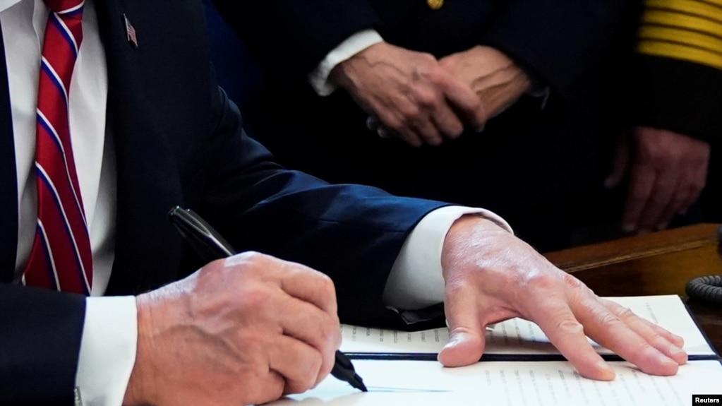 Трамп наложил вето на резолюцию Конгресса о ведении военных действий против Ирана