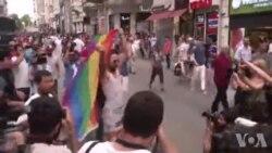 LGBT Eylemlerinde 24 Kişi Gözaltına Alındı