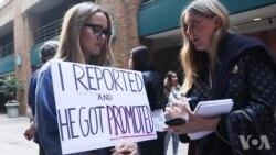 来自硅谷的谷歌员工加入全球抗议活动